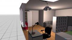 Raumgestaltung WG Ulm in der Kategorie Schlafzimmer