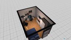 Raumgestaltung Wg Zimmer 2 Bsp in der Kategorie Schlafzimmer