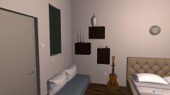Raumgestaltung WG-Zimmer Bolbrinkerweg in der Kategorie Schlafzimmer