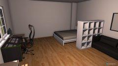 Raumgestaltung WG Zimmer Lagerhausstraße in der Kategorie Schlafzimmer