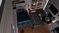 Raumgestaltung WG-Zimmer in der Kategorie Schlafzimmer