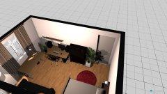 Raumgestaltung WG zimmer in der Kategorie Schlafzimmer