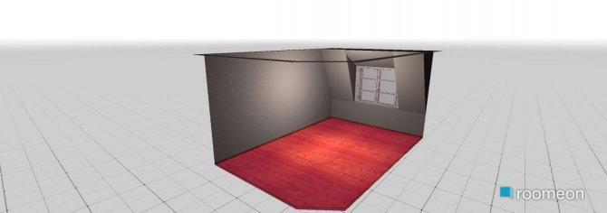 Raumgestaltung WGZimmer in der Kategorie Schlafzimmer