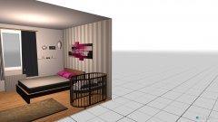 Raumgestaltung Whg Hornstege Schlafzimmer in der Kategorie Schlafzimmer