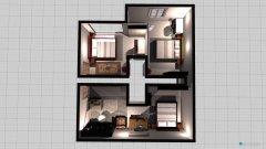 Raumgestaltung Whole Top Floor in der Kategorie Schlafzimmer