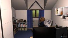 Raumgestaltung Wohn-, Arbeits-, Schlafzimmer Combo in der Kategorie Schlafzimmer