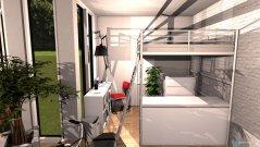 Raumgestaltung Wohn- Schlafkombi in der Kategorie Schlafzimmer