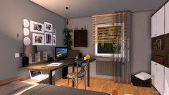 Raumgestaltung wohnen und schlafen in der Kategorie Schlafzimmer