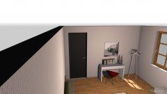 Raumgestaltung wohnug 1 Schlafzimmer in der Kategorie Schlafzimmer