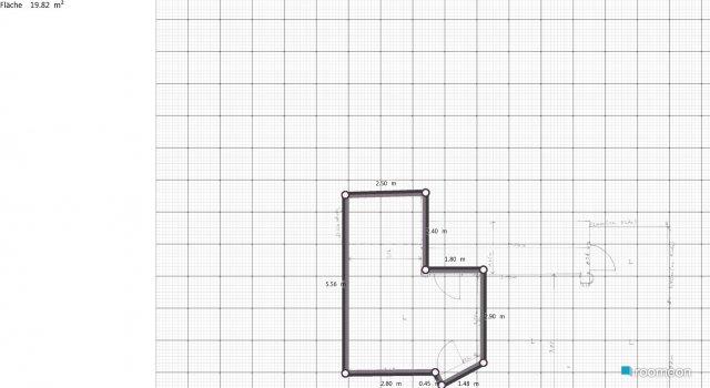 Raumgestaltung wohnugn  in der Kategorie Schlafzimmer