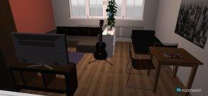 Raumgestaltung Wohnung 01 in der Kategorie Schlafzimmer