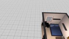 Raumgestaltung Wohnung 2 in der Kategorie Schlafzimmer