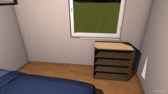 Raumgestaltung Wohnung Bischofshofen Schlafzimmer in der Kategorie Schlafzimmer