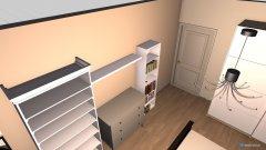 Raumgestaltung Wohnung Lisa in der Kategorie Schlafzimmer