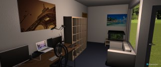 Raumgestaltung Wohnung Mainz in der Kategorie Schlafzimmer