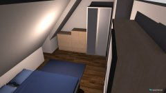 Raumgestaltung Wohnung Münster Schlafzimmer in der Kategorie Schlafzimmer