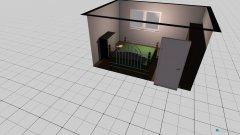 Raumgestaltung Wohnung Schlafen in der Kategorie Schlafzimmer