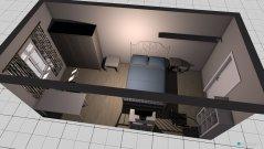 Raumgestaltung Wohnung Schlafzimmer 2. Variante in der Kategorie Schlafzimmer