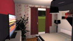 Raumgestaltung Wohnung Schlafzimmer in der Kategorie Schlafzimmer