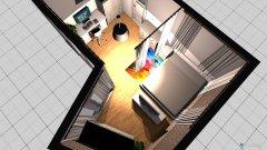 Raumgestaltung Wohnung_BG30 in der Kategorie Schlafzimmer