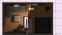 Raumgestaltung Wohnzimmerumbau2 in der Kategorie Schlafzimmer