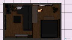 Raumgestaltung Wohnzimmerumbau3 in der Kategorie Schlafzimmer