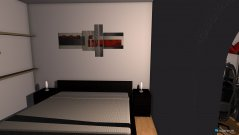 Raumgestaltung Wohnzimmerumbau in der Kategorie Schlafzimmer