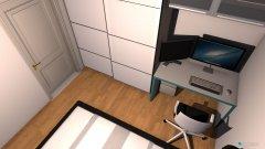Raumgestaltung Wohung 10 - Schlafzimmer in der Kategorie Schlafzimmer