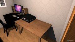 Raumgestaltung Workspace in der Kategorie Schlafzimmer