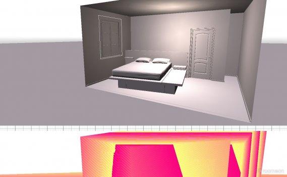 Raumgestaltung ws in der Kategorie Schlafzimmer