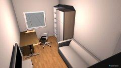 Raumgestaltung Yacins Zimmer in der Kategorie Schlafzimmer