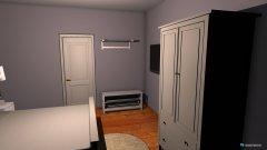 Raumgestaltung Zi15 1Og VoMi in der Kategorie Schlafzimmer