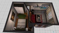 Raumgestaltung Zimmer 02-01 in der Kategorie Schlafzimmer