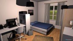 Raumgestaltung Zimmer an der Küche in der Kategorie Schlafzimmer