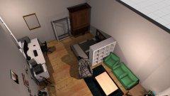 Raumgestaltung Zimmer Berlin 2 in der Kategorie Schlafzimmer