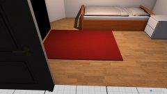 Raumgestaltung Zimmer Bernhard in der Kategorie Schlafzimmer