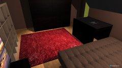 Raumgestaltung zimmer braun in der Kategorie Schlafzimmer