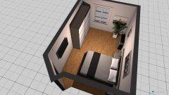 Raumgestaltung Zimmer Dominique in der Kategorie Schlafzimmer