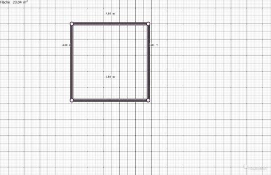 Raumgestaltung Zimmer groß in der Kategorie Schlafzimmer