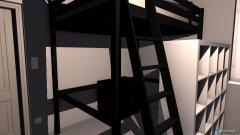 Raumgestaltung Zimmer Haus weiss in der Kategorie Schlafzimmer