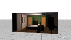 Raumgestaltung Zimmer Hildegard in der Kategorie Schlafzimmer