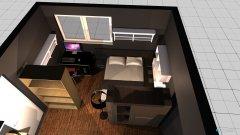 Raumgestaltung Zimmer im Keller in der Kategorie Schlafzimmer