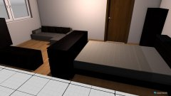 Raumgestaltung zimmer jenny in der Kategorie Schlafzimmer