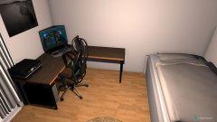 Raumgestaltung Zimmer Jonas in der Kategorie Schlafzimmer
