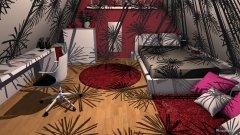 Raumgestaltung Zimmer Jule in der Kategorie Schlafzimmer