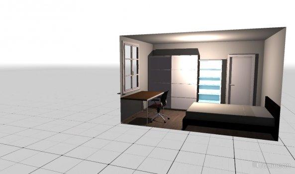 Raumgestaltung Zimmer Julian in der Kategorie Schlafzimmer