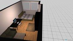 Raumgestaltung Zimmer Keller in der Kategorie Schlafzimmer