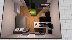 Raumgestaltung Zimmer komplett ohne wand nr 2 in der Kategorie Schlafzimmer
