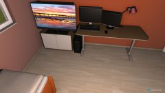 Raumgestaltung Zimmer Leroy Neu4 in der Kategorie Schlafzimmer