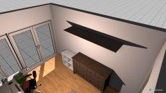Raumgestaltung Zimmer links in der Kategorie Schlafzimmer